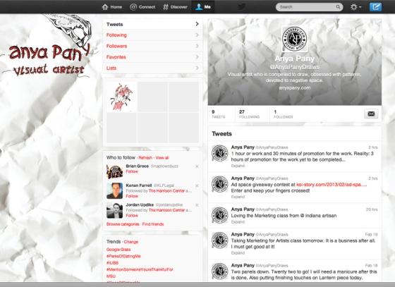 @AnyaPany Draws Twitter Page