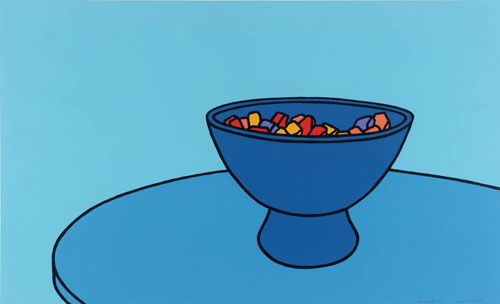 Patrick Caulfield. Sweet Bowl (1967)